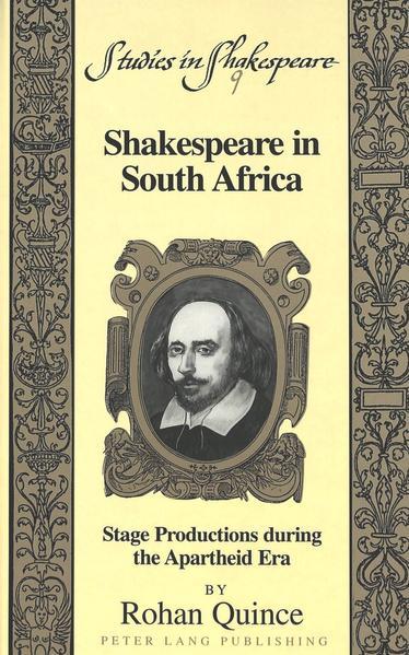 Shakespeare in South Africa Laden Sie PDF-Ebooks Herunter