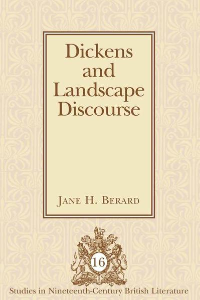 Dickens and Landscape Discourse - Coverbild