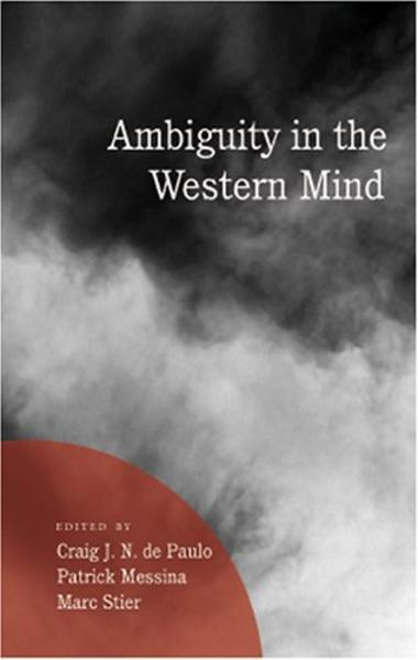 Ambiguity in the Western Mind - Coverbild