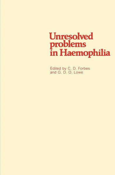 Unresolved problems in Haemophilia - Coverbild