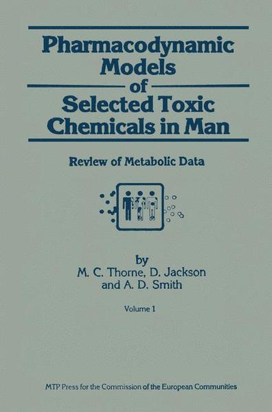 Pharmacodynamic Models of Selected Toxic Chemicals in Man - Coverbild