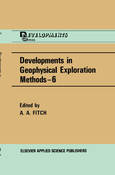 Developments in Geophysical Exploration Methods - Coverbild