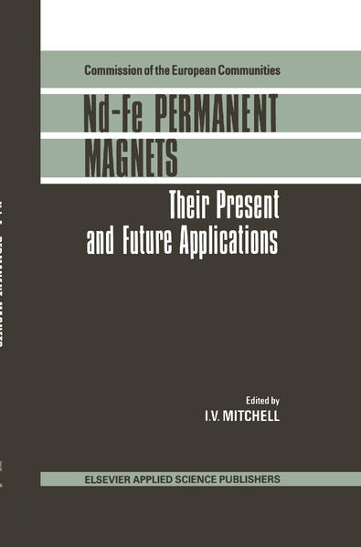 Nd-Fe Permanent Magnets - Coverbild