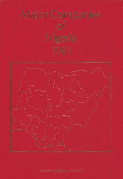 Major Companies of Nigeria 1983 - Coverbild