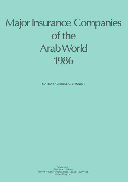 Major Insurance Companies of the Arab World 1986 - Coverbild