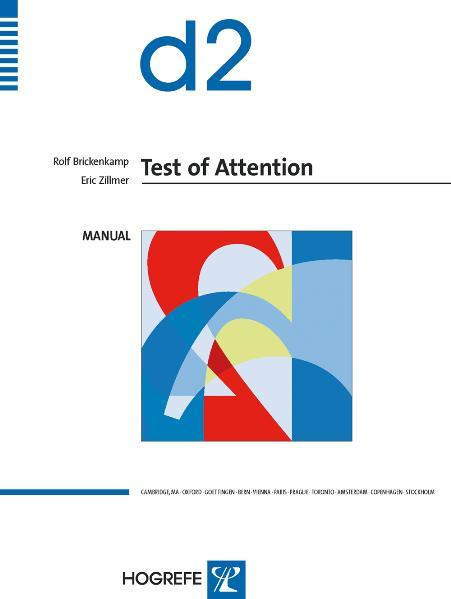 The d2 Test of Attention - Coverbild