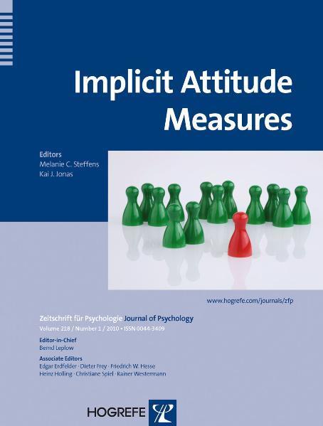 Implicit Attitude Measures - Coverbild