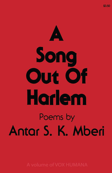A Song Out of Harlem - Coverbild