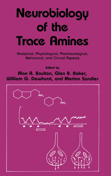 Neurobiology of the Trace Amines - Coverbild