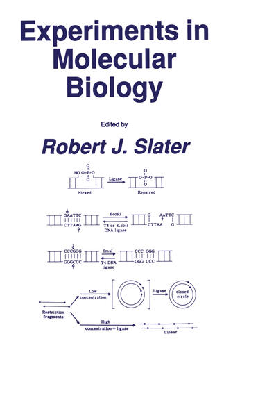 Experiments in Molecular Biology - Coverbild