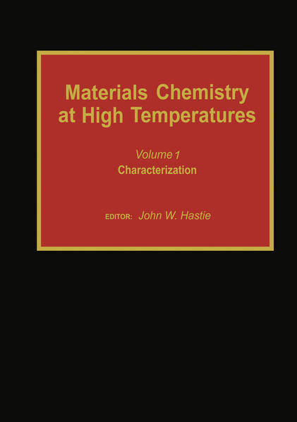 Materials Chemistry at High Temperatures - Coverbild