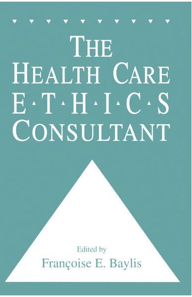 The Health Care Ethics Consultant - Coverbild