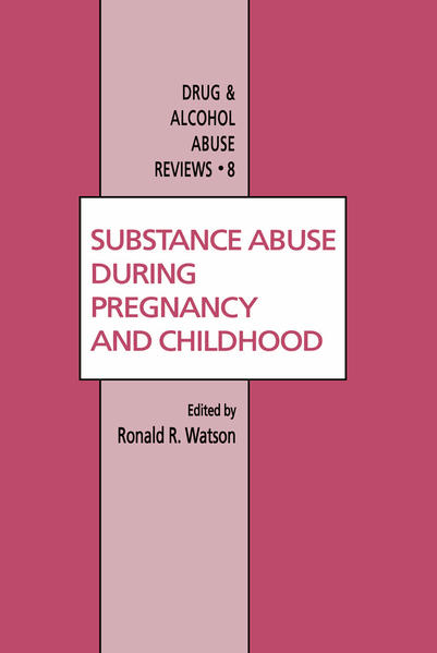 Substance Abuse During Pregnancy and Childhood - Coverbild