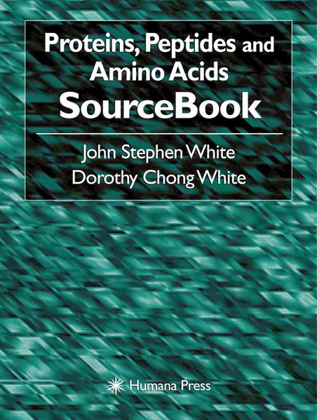 Proteins, Peptides and Amino Acids SourceBook - Coverbild
