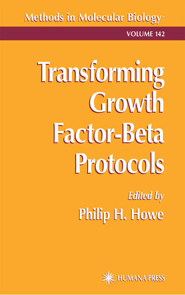 Transforming Growth Factor-Beta Protocols - Coverbild