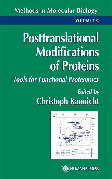 Posttranslational Modification of Proteins - Coverbild