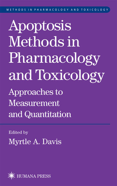 Apoptosis Methods in Pharmacology and Toxicology - Coverbild