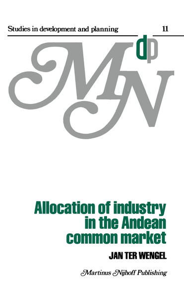 Allocation of Industry in the Andean Common Market - Coverbild