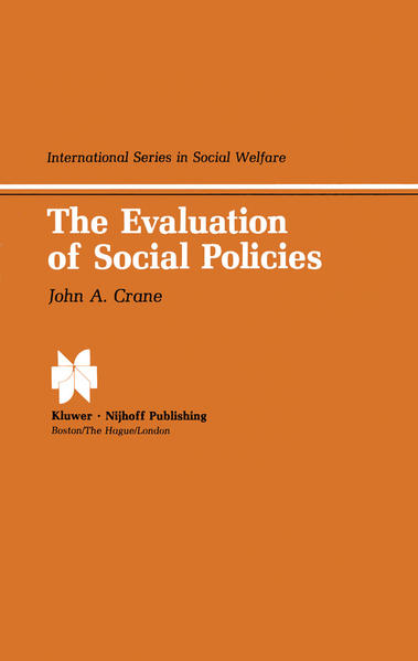 The Evaluation of Social Policies - Coverbild