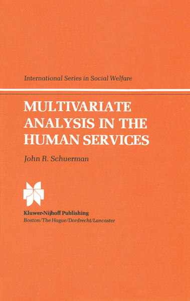 Multivariate Analysis in the Human Services - Coverbild