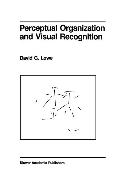 Perceptual Organization and Visual Recognition - Coverbild