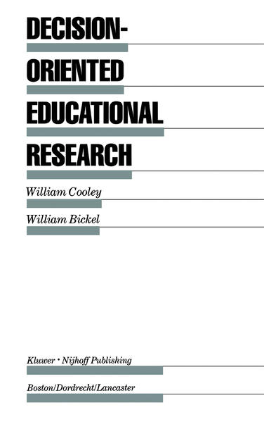 Decision-Oriented Educational Research - Coverbild