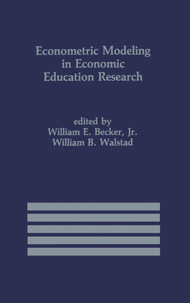 Econometric Modeling in Economic Education Research - Coverbild