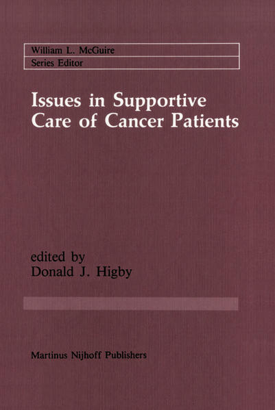 Issues in Supportive Care of Cancer Patients - Coverbild