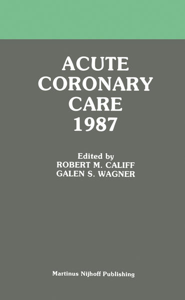 Acute Coronary Care 1987 - Coverbild