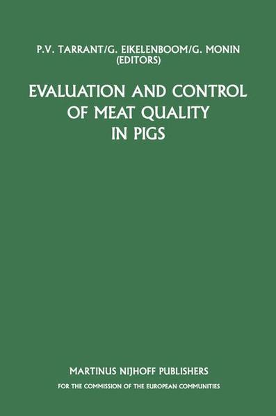 Evaluation and Control of Meat Quality in Pigs - Coverbild