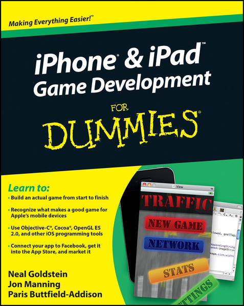 iPhone and iPad Game Development For Dummies - Coverbild