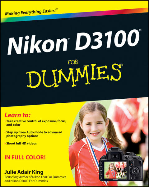 Nikon D3100 For Dummies - Coverbild