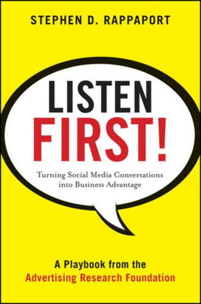 Listen First! - Coverbild
