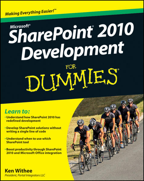 SharePoint 2010 Development For Dummies - Coverbild