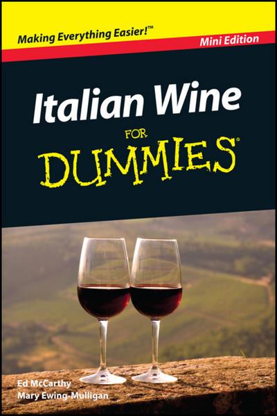 Italian Wine For Dummies, Mini Edition - Coverbild