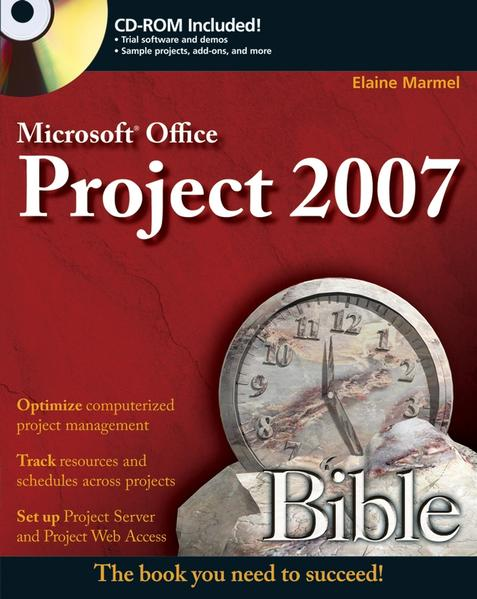 Microsoft Project 2007 Bible - Coverbild