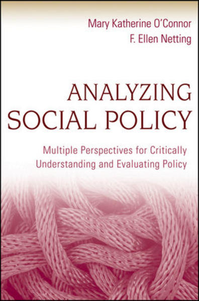 Analyzing Social Policy - Coverbild