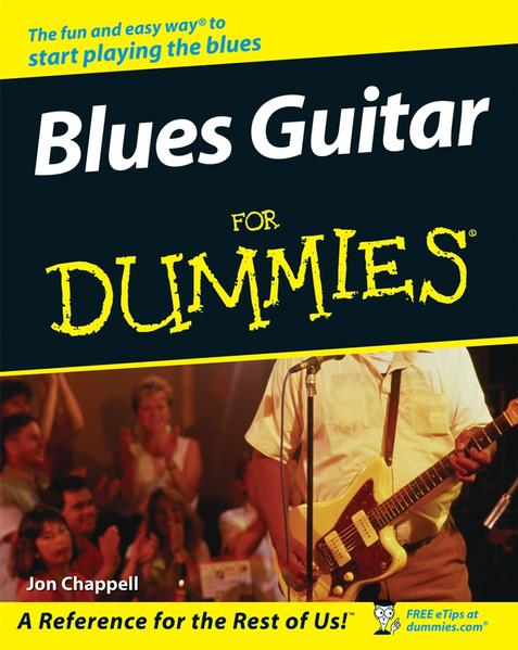 Blues Guitar For Dummies - Coverbild