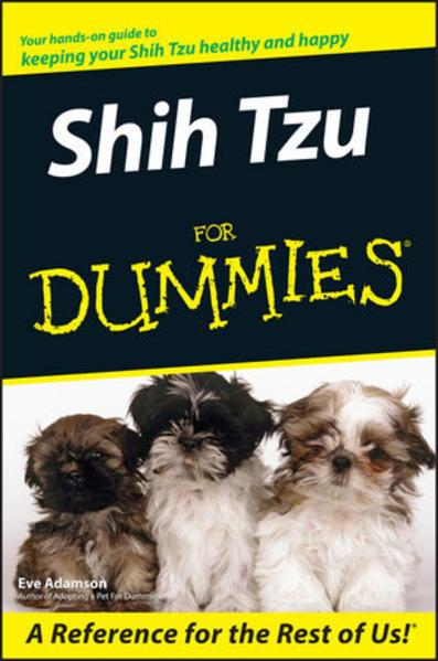Shih Tzu For Dummies - Coverbild