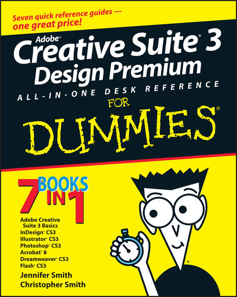 Adobe Creative Suite 3 Design Premium All-in-One Desk Reference For Dummies - Coverbild