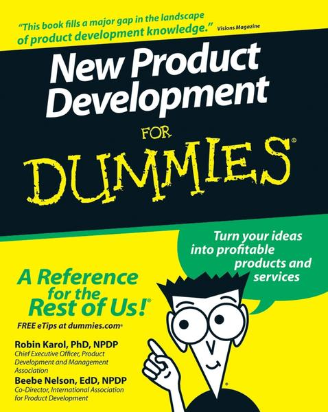 New Product Development For Dummies - Coverbild