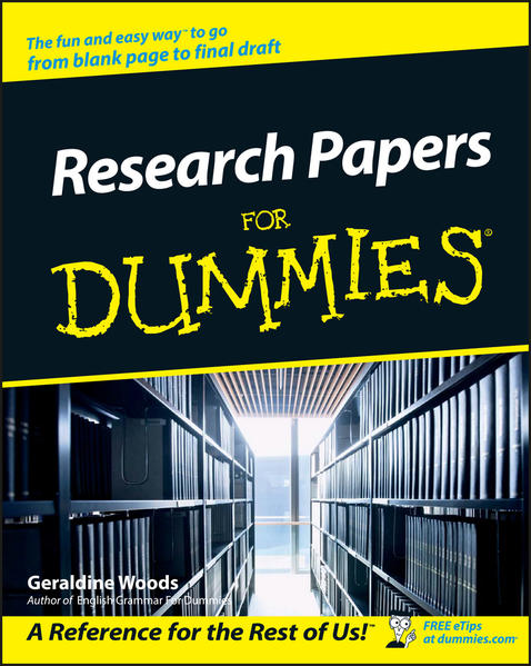Research Papers For Dummies - Coverbild