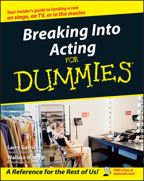 Breaking Into Acting For Dummies - Coverbild