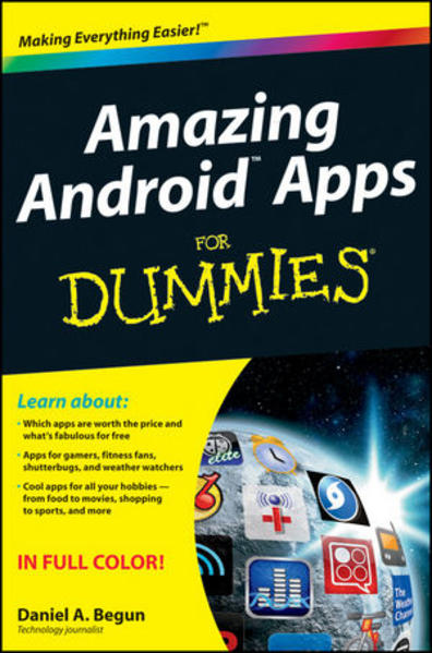 Amazing Android Apps For Dummies - Coverbild