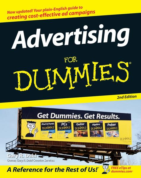 Advertising For Dummies - Coverbild