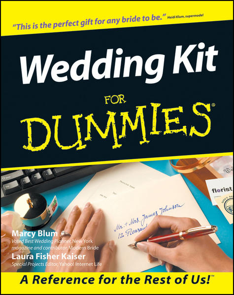 Wedding Kit For Dummies - Coverbild