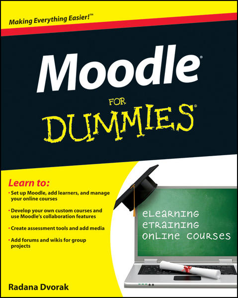 Moodle For Dummies - Coverbild