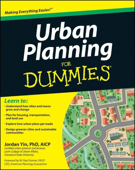 Urban Planning For Dummies - Coverbild