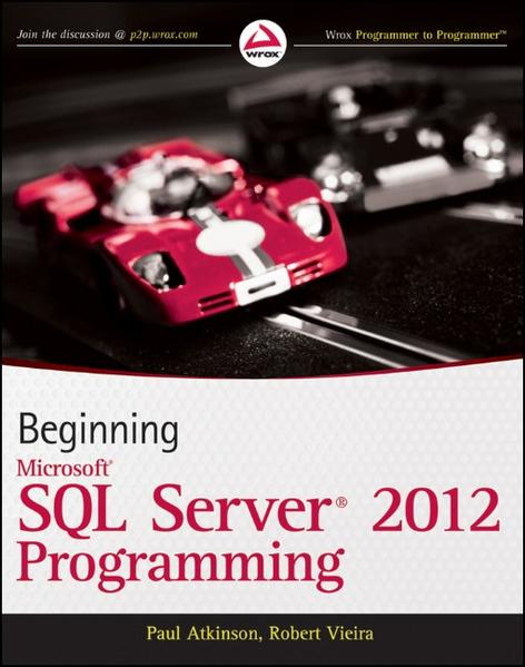 Beginning Microsoft SQL Server 2012 Programming - Coverbild