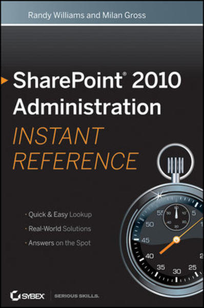SharePoint 2010 Administration Instant Reference - Coverbild
